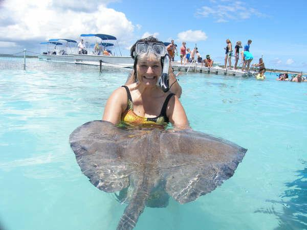 Nancy with Stingray