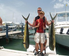 beautiful Mahi's St Maarten Fishing